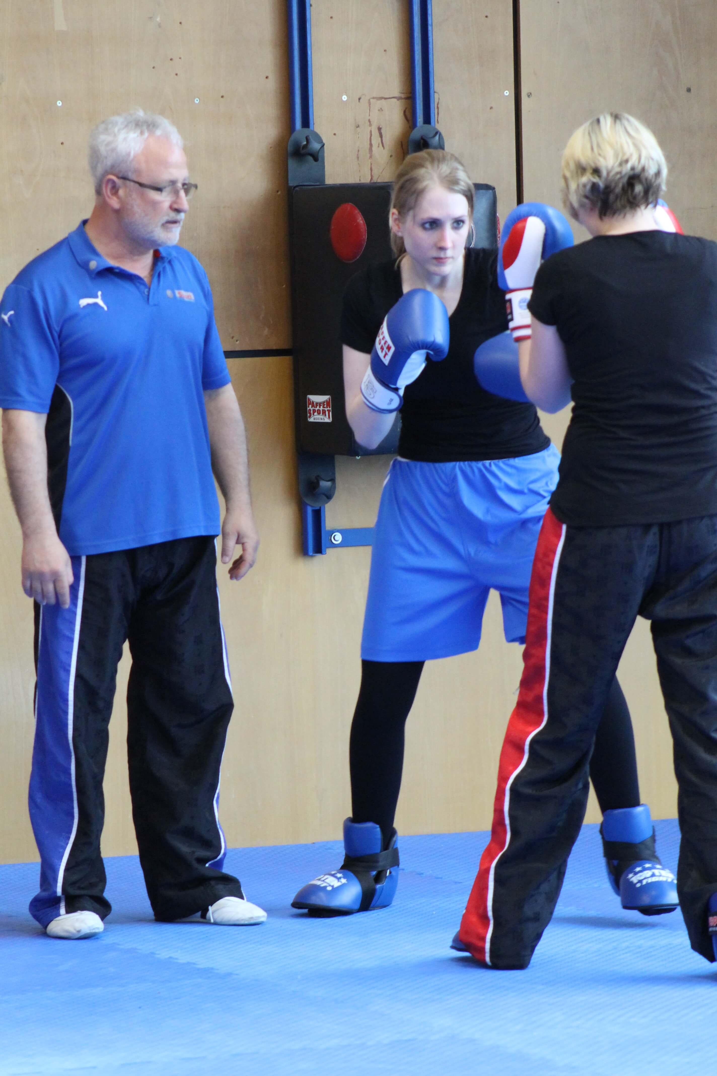 Kickboxen in Wolfsburg Frauen