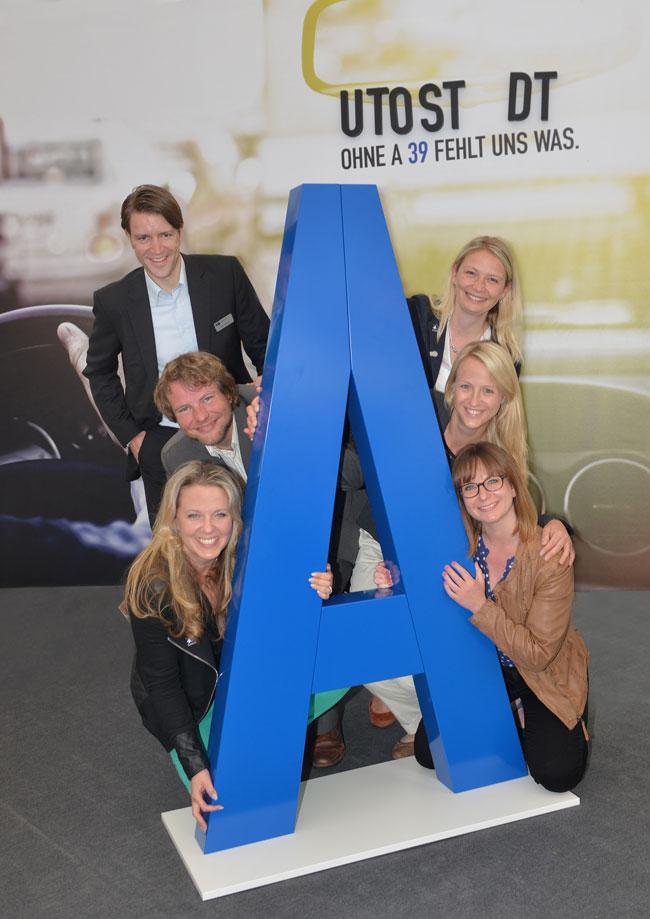 Michael Wilkens und die Wirtschaftsjunioren Gifhorn-Wolfsburg sind für die Autobahn A39