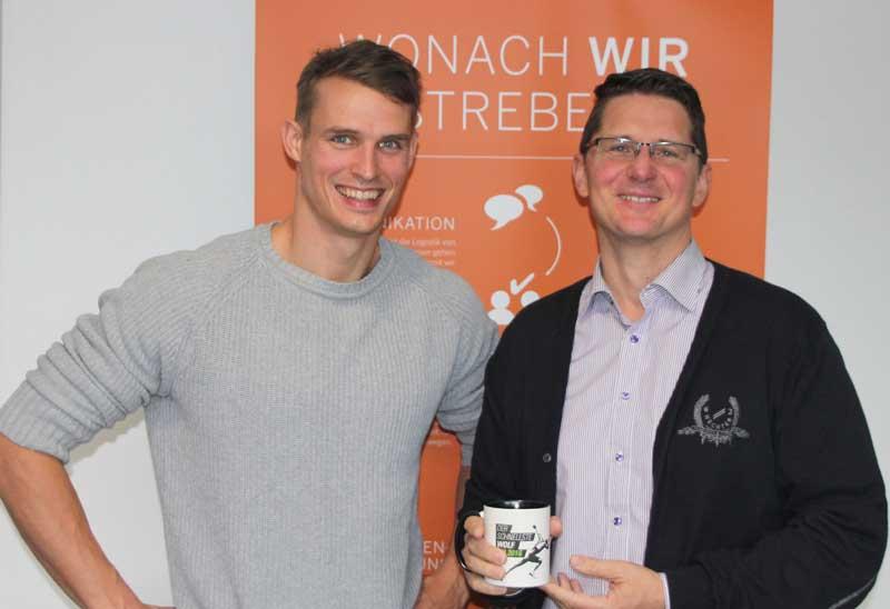 Sven Knipphals trifft Martin Möhrmann von Gübau Spedition