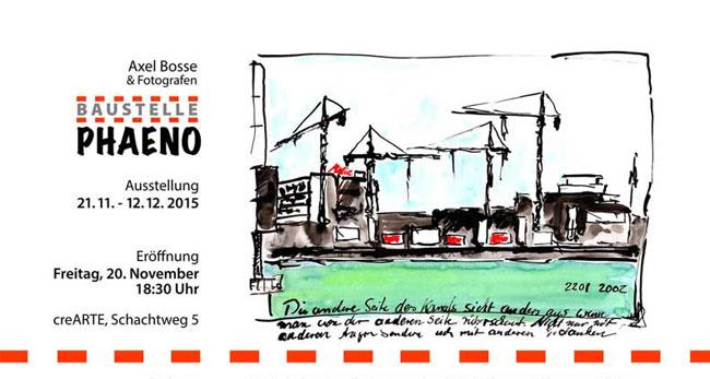 crearte Ausstellung Baustelle phaeno
