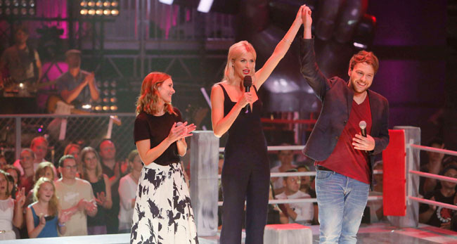 Ayke Witt live bei The Voice of Germany