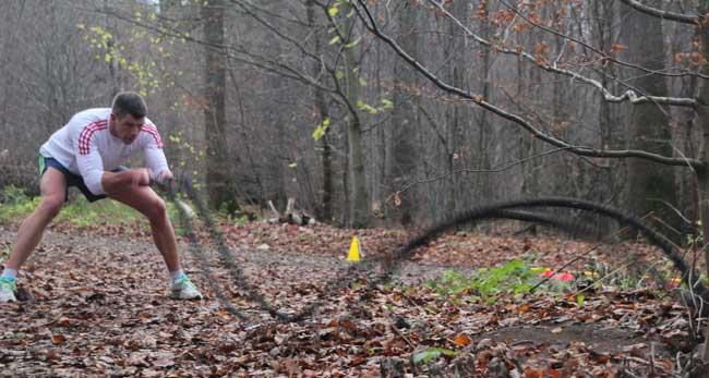Waldcrosslauf bei Mrs. Sporty in Wolfsburg