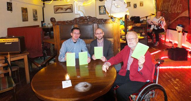 Literatur im Cafe Schrill in Wolfsburg