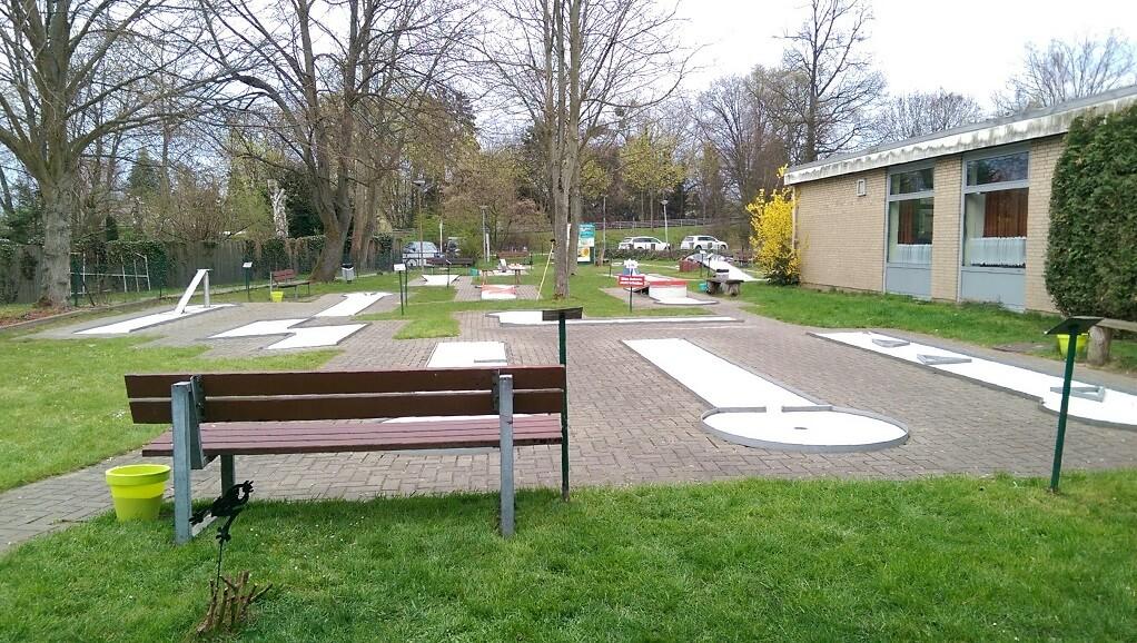 Minigolf spielen in Wolfsburg