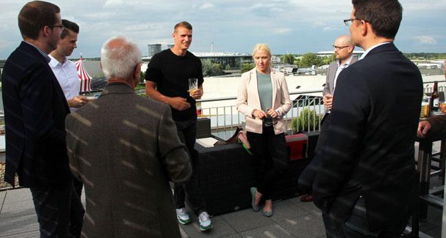 Sponsorentreffen mit Sven Knipphals in Wolfsburg