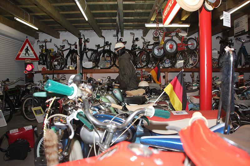 Oldtimertreffen im ET Zweiradmuseum Grußendorf