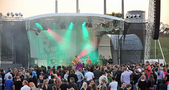 Rock im Allerpark Wolfsburg