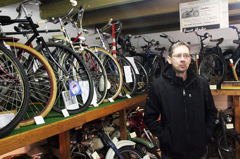 Tobias Tantius Inhaber ET Zweiradmuseum Grußendorf