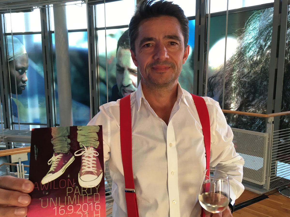 Tom Graubner vom Awilon veranstaltet Unlimited Party