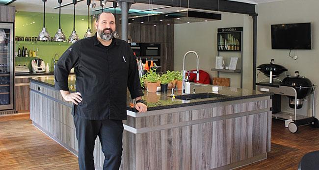 Küchenchef André Münch vom Gourmet Restaurant Saphir
