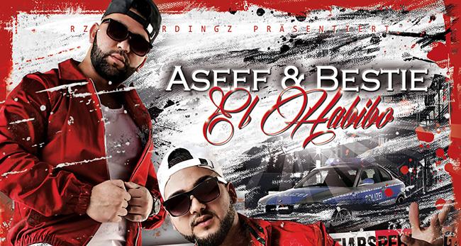 """Das Duo Aseef & Bestie veröffentlichen ihren Debüt-Tonträger """"El Habibo"""""""