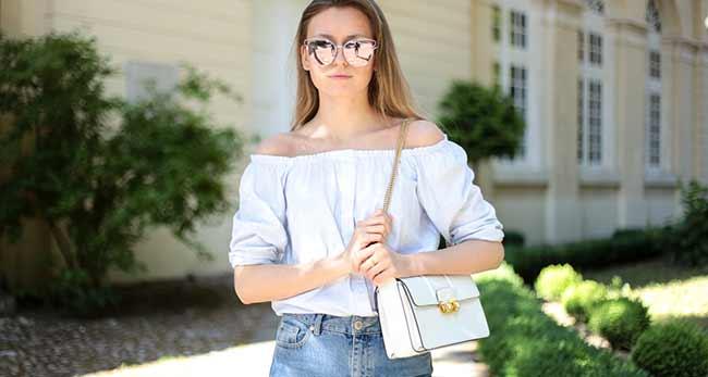 Modebloggerin Livia Auer für FLOW WOLF