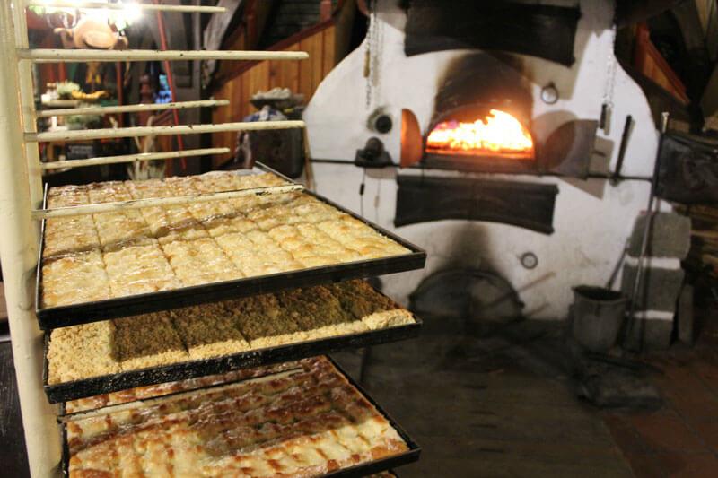 Das Mühlenmuseum ist bekannt für seinen legendären Streuselkuchen