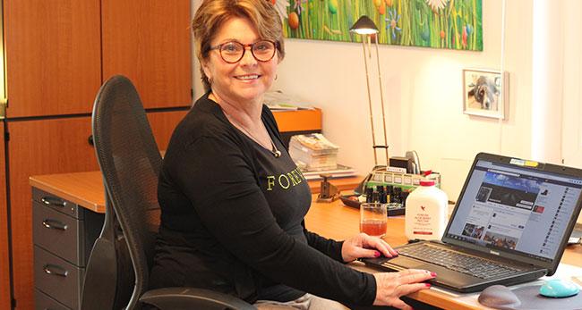 Susanne Evertz arbeitet als selbstständige Vertriebspartnerin für Forever Living Products