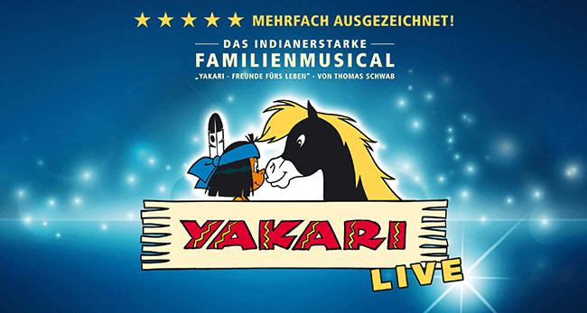 YAKARI LIVE 2017 im CongressPark Wolfsburg