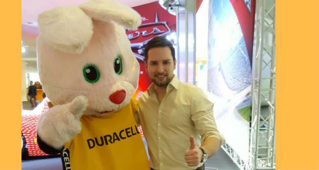 Michael Schröder vom WKS Kaufhaus Wolfsburg war auf der Spielwarenmesse