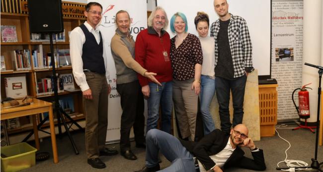 Autoren begeisterten zum einjährigen Jubiläum von Litin WOB
