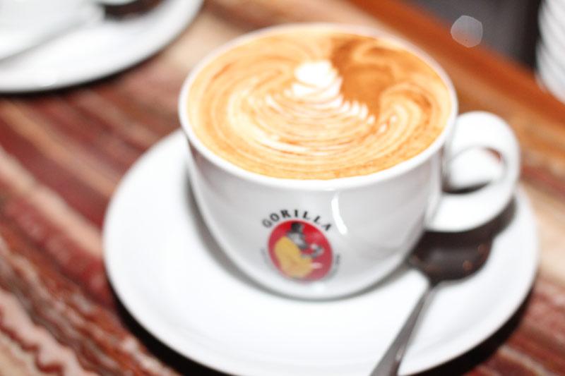 Letztes Jahr haben wir 40.000 Cappuccino verkauft