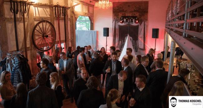 3. Wirtschaftsjunioren Business-Lounge feierte das Netzwerk der Region Foto: Thomas Koschel