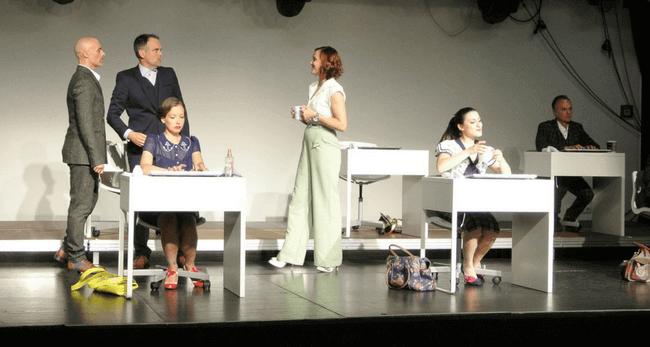 Tanzendes Theater Wolfsburg: DAS BÜRO