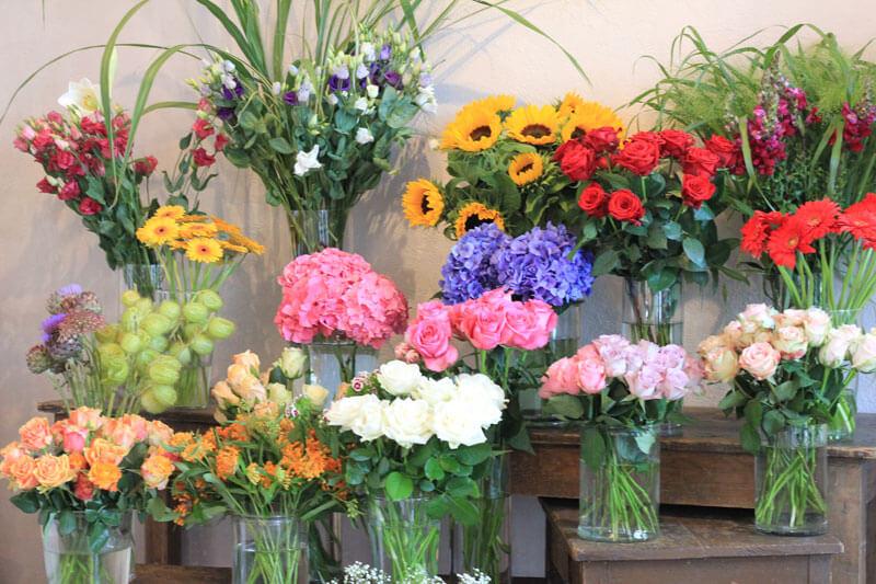 Blumenliebe befindet sich in Mörse