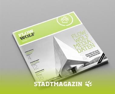 FLOW WOLF Stadtmagazin