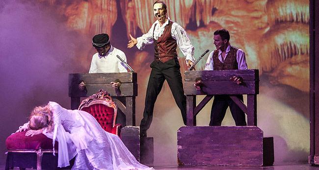 Das Phantom der Oper im Congress Park Wolfsburg