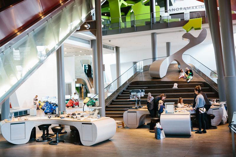Autostadt MobiVersum bietet für Familien einen idealen Ort der Begegnung / Foto: Anja Weber