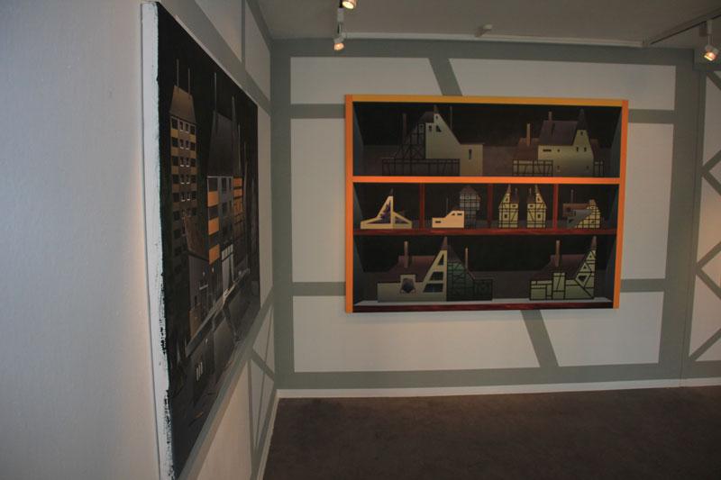 Titus Schade Ausstellung in Junge Kunst