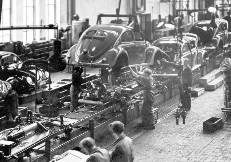 Produktion / Foto: IG Metall Wolfsburg