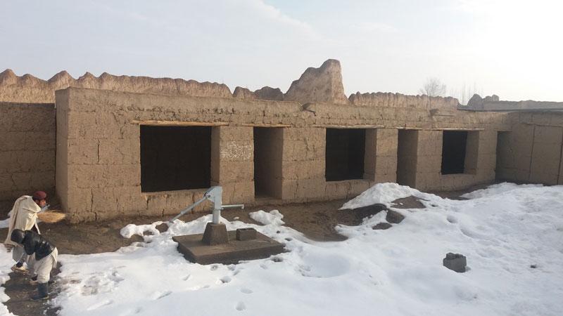 Rohbau der ersten Klassenräume / Foto: BfKiA e.V.