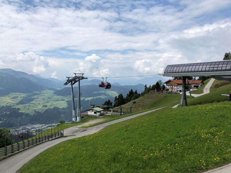 Hohe Salve Salvenbahn Tirol