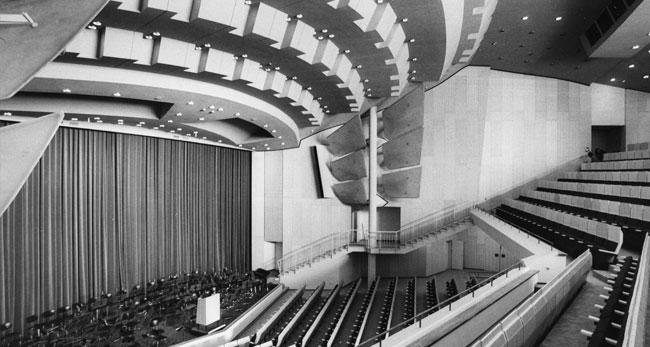 Zuschauerraum des Scharoun Theaters / Foto: Scharoun Theater (Fritz Rust)