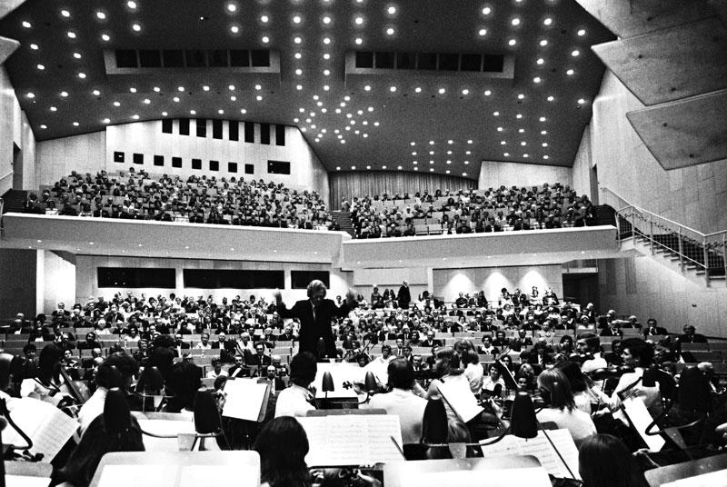 Theater-Eröffnung am 05.10.1973 / Foto: Scharoun Theater