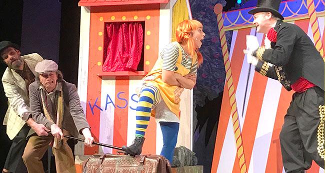 Pippi Langstrumpf zu Gast im Sharoun Theater Wolfsburg