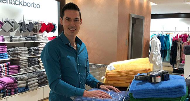 Ingo Bartels besuchte das WKS Kaufhaus als der Praktikant