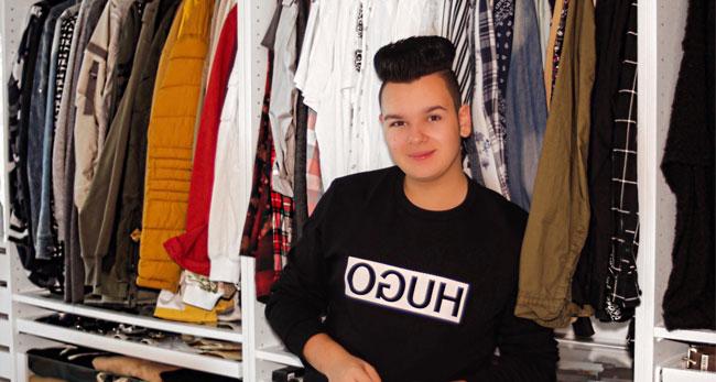 Kleiderschrank-Check mit Enrico Elia / Foto: Andreas Bräunlich