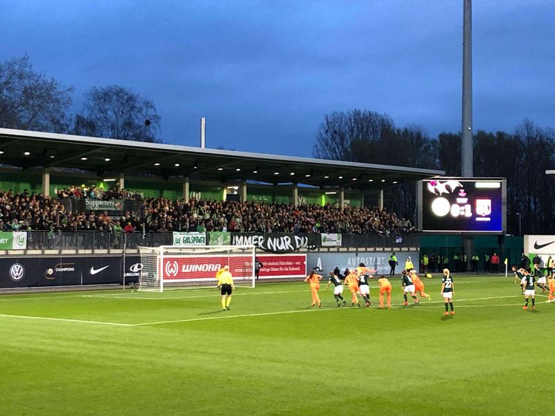 AOK Stadion VfL Wolfsburg Frauen