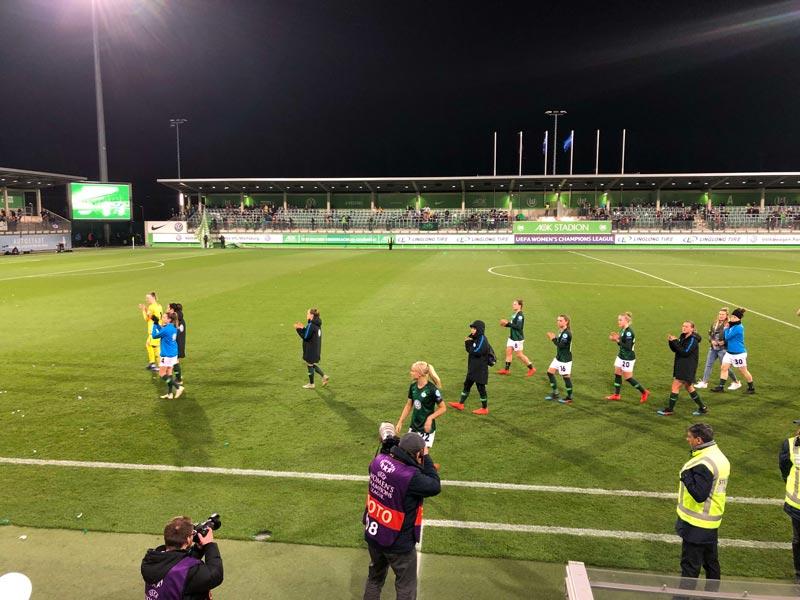 VfL Wolfsburg Frauen raus aus UWCL
