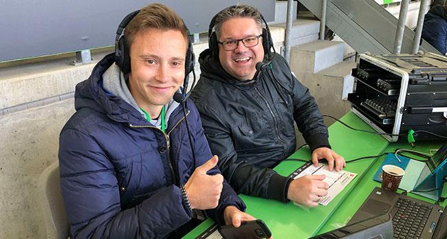 Wölferadio mit Lars Vollmering und Jan-Niklas Schildwächter