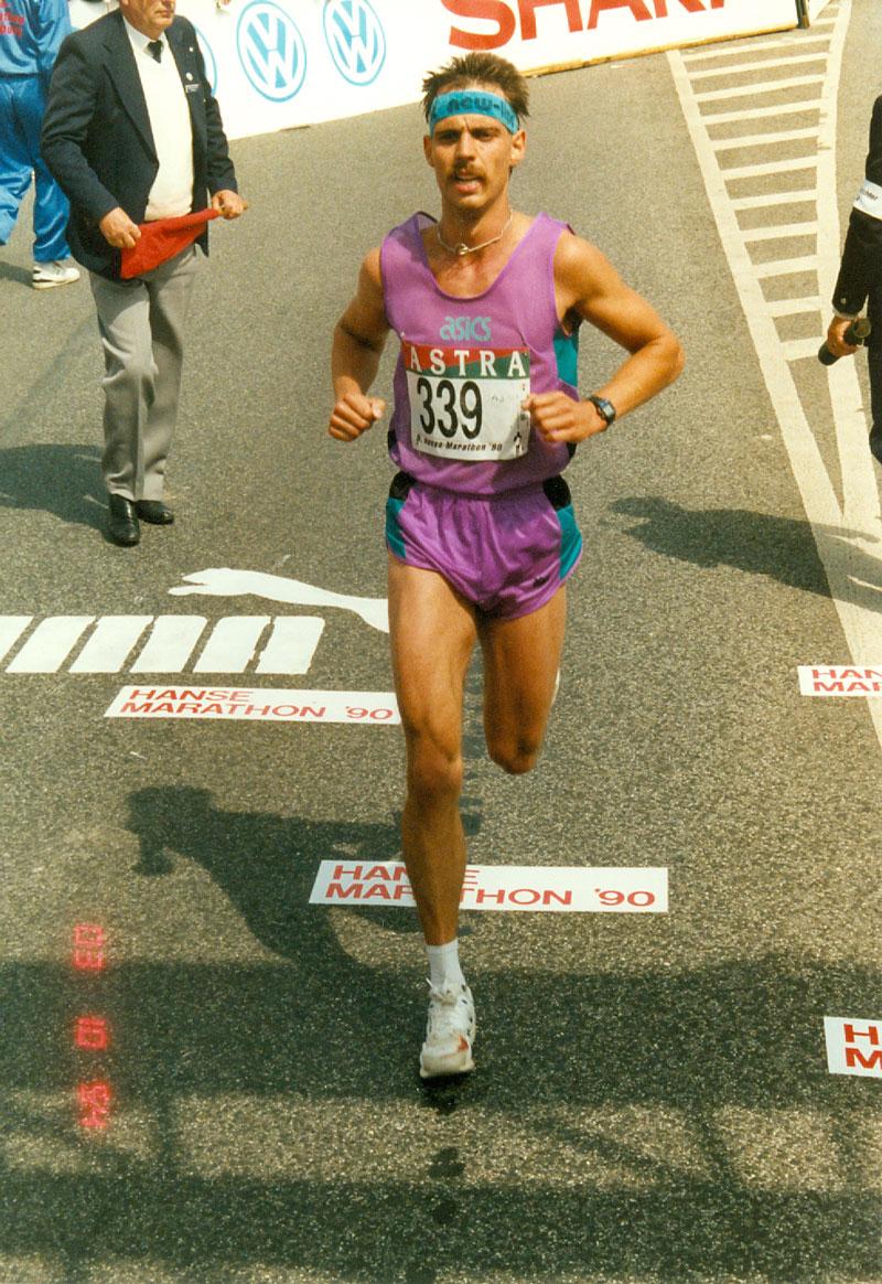Hamburg-Marathon 1990 / Foto: Joachim Franz