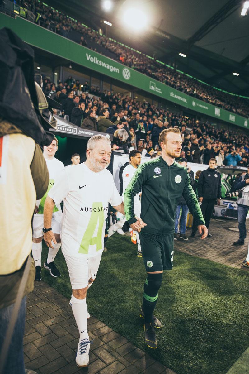Sowas erlebt man nie wieder. / Foto: VfL Wolfsburg-Fußball GmbH