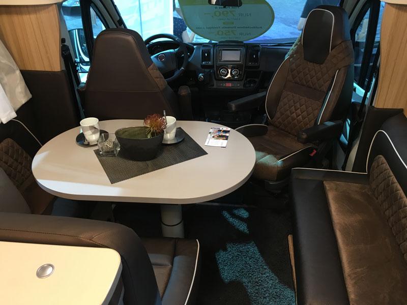 Die Innenausstattung ist schick und funktional eingerichtet. / Foto: GH Reisemobile