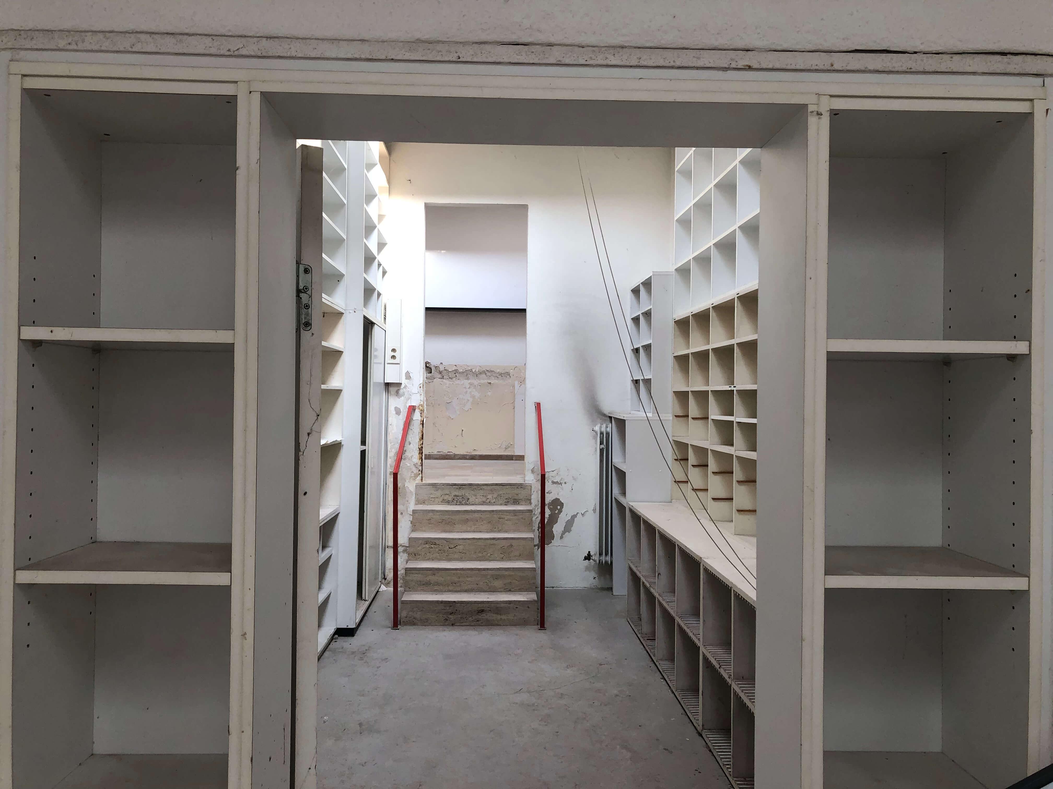 Das Archiv der Schriftensammlung – heute leerstehend und ungenutzt / Foto: FLOW WOLF