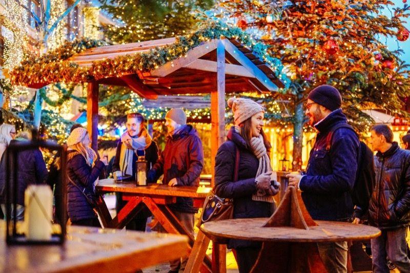 Die Innenstadt wird zum Winterwunderland / Foto: WMG_Janina Snatzke
