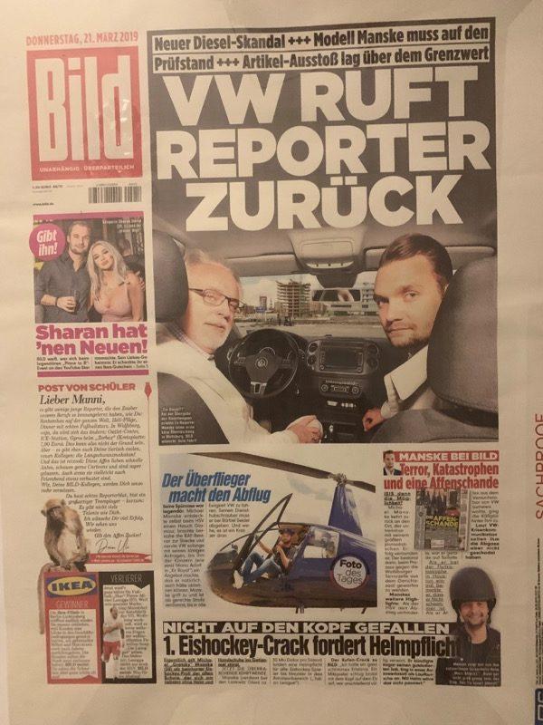 Die Berichterstattung über den Dieselskandal haben ihn auch bei Volkswagen bekannt gemacht. / Foto: Michael Manske