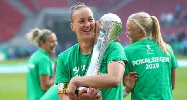 Almuth Schult hat mit dem VfL Wolfsburg schon einige Titel gewonnen. /Foto: regios24