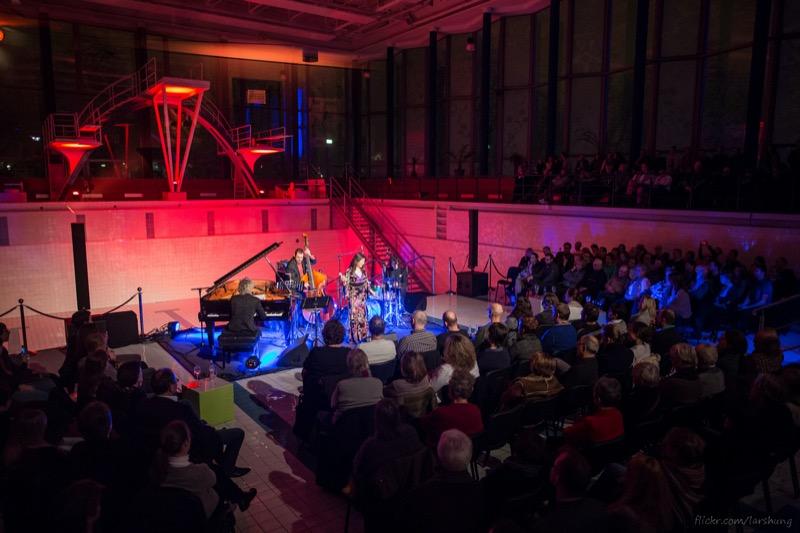 Jazz Veranstaltung im Hallenbad