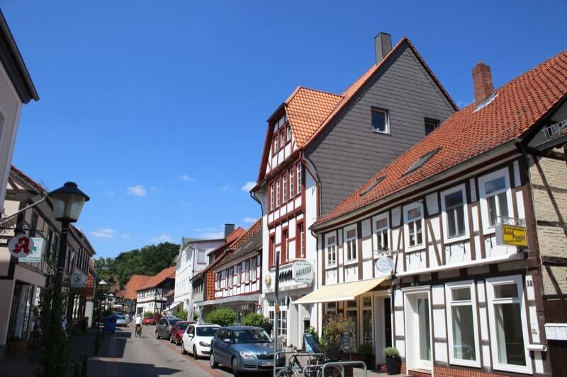 Westerstraße in der Fallersleber Altstadt